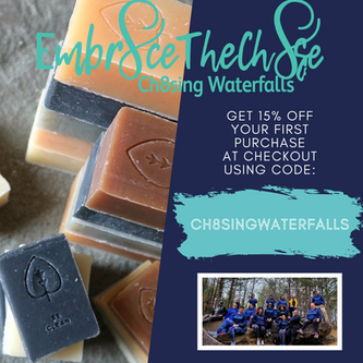 Shop Soap & Support Ch8sing Waterfalls