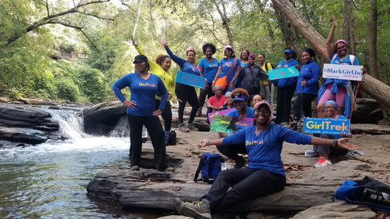 Ch.26 ~Happy bEarthDay Rhonda at  Vickery Creek Falls -  (10.12.19)