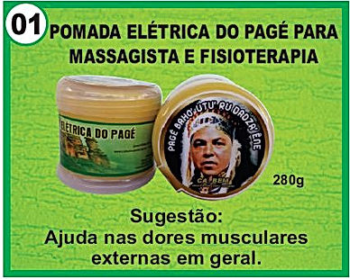pomada eletrica page fisioterapeuta 280grs