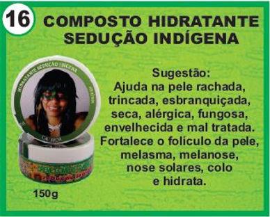 composto hidratante hindigena
