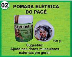 pomada eletrica do page