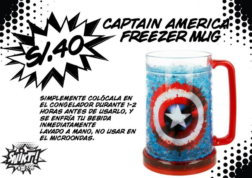 Capitán América Freezer mug