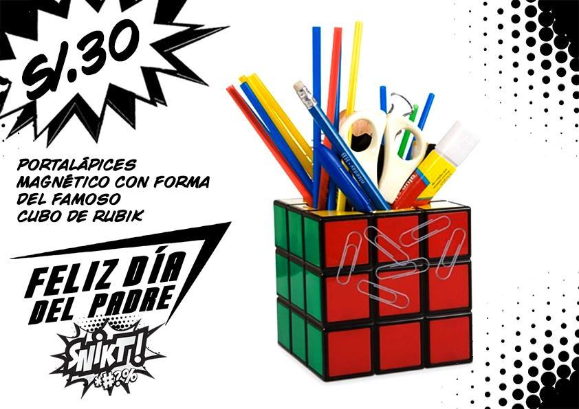 Portalapices Cubo de Rubik