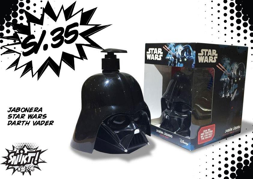 Jabonera Darth Vader