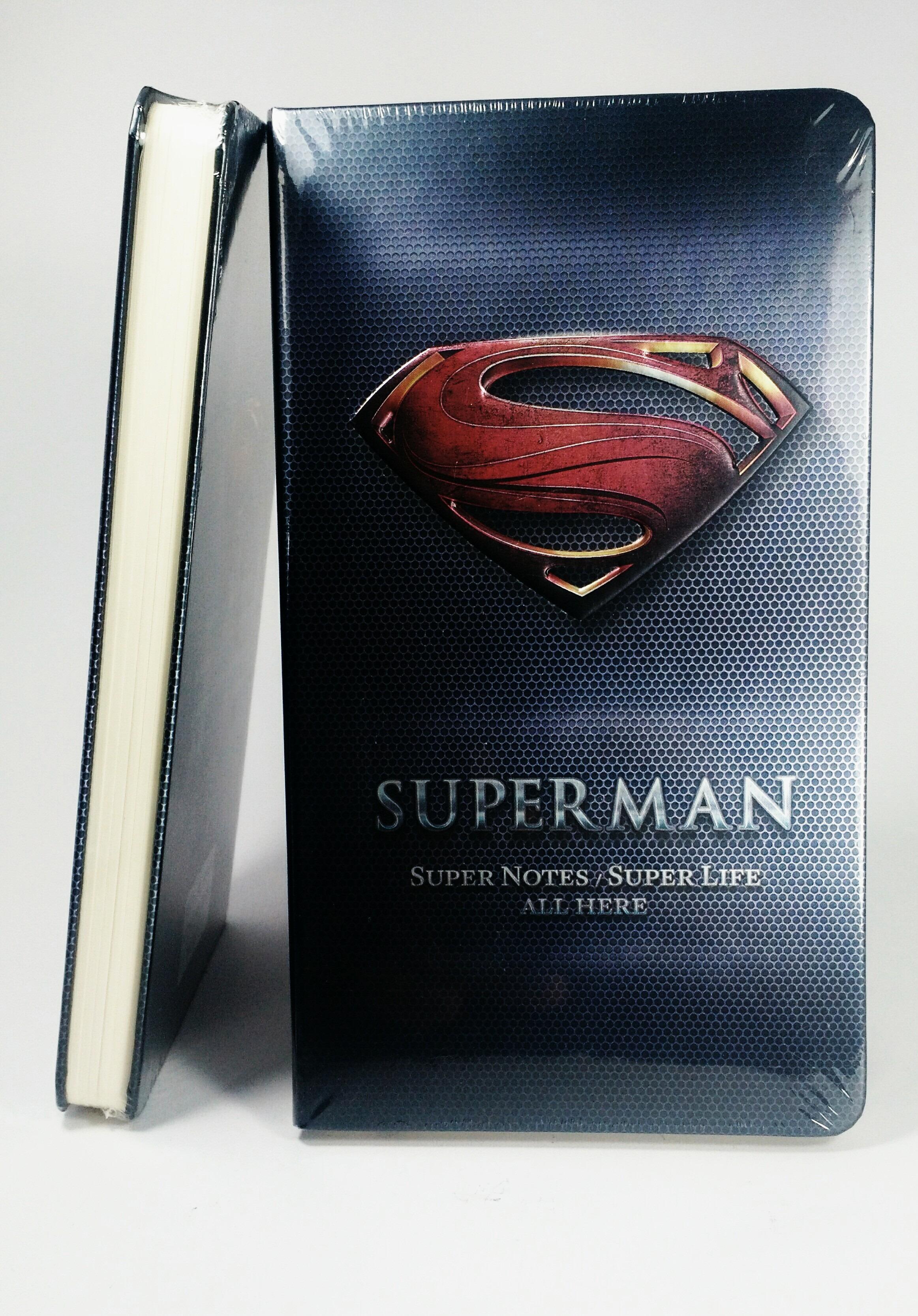 Libreta Superman