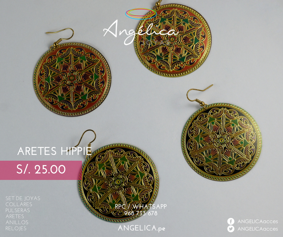 Aretes Hippie