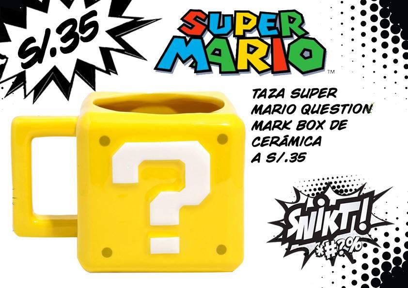 Taza Super Mario