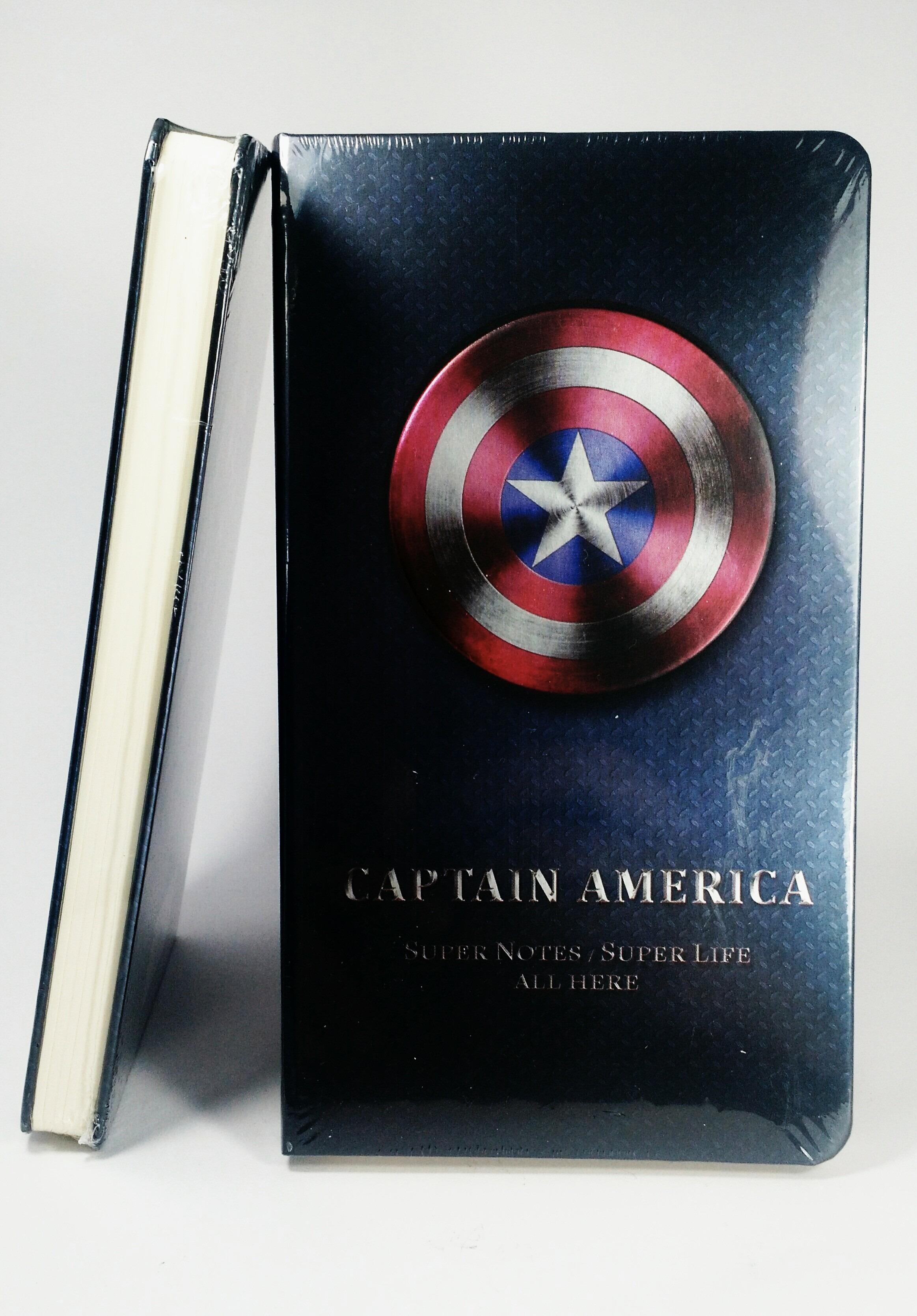 Libreta Capitán América