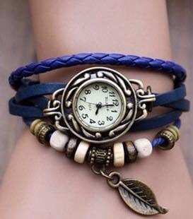 Reloj Pulsera azul