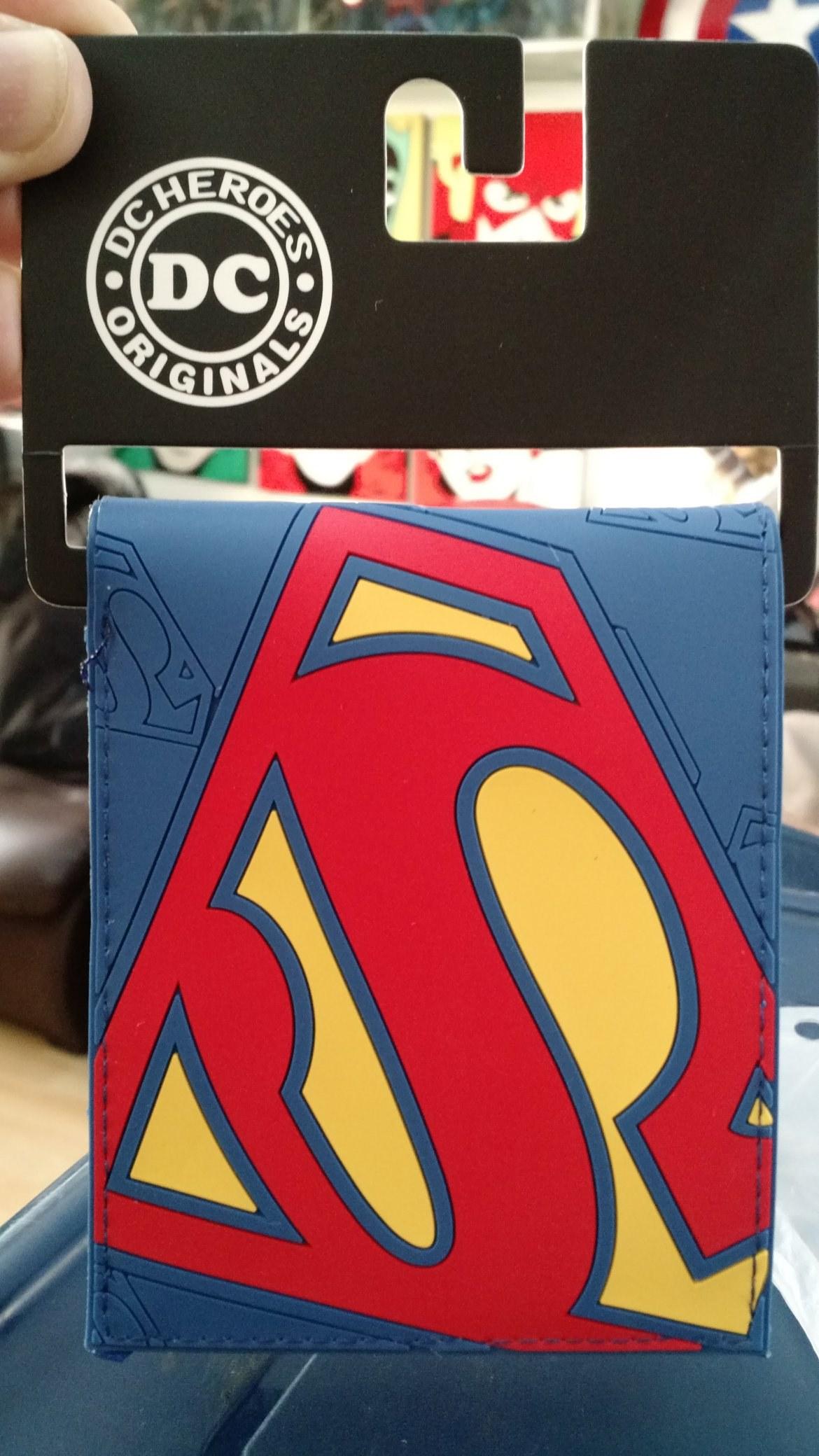 Billetera Superman