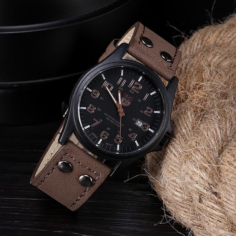Reloj Soki Marrón