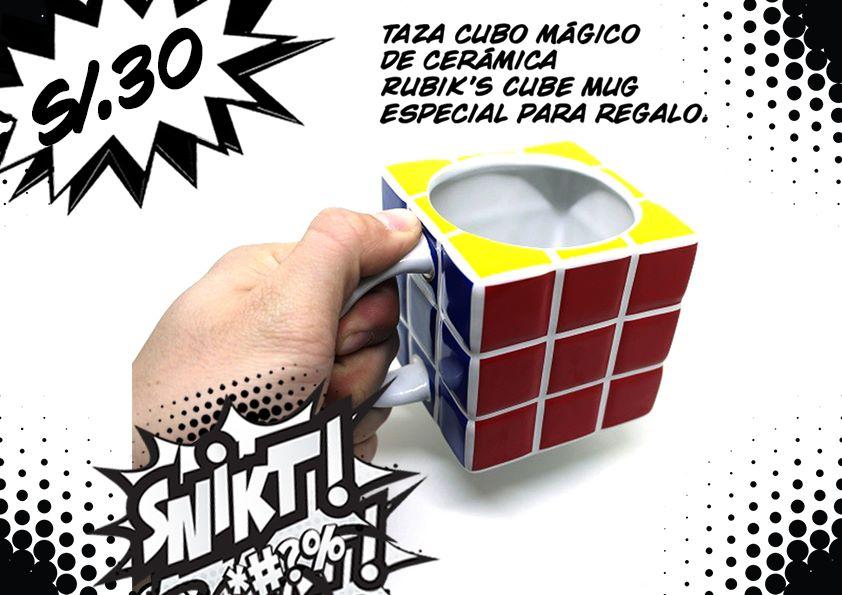 Taza Cubo Mágico