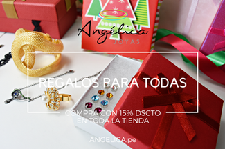 Tenemos el regalo perfecto con 15% DSCTO en Fantasía Fina y Bisuteria
