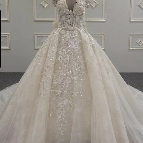Zynab Smith 2011D Custom Wedding Dress