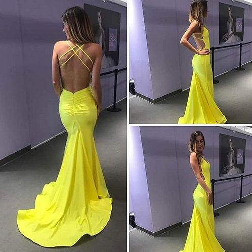 Atria Clothing Backless Gown Size S