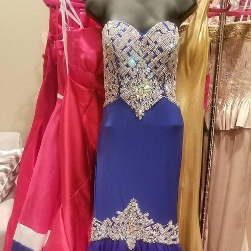 Beaded Mermaid Gown