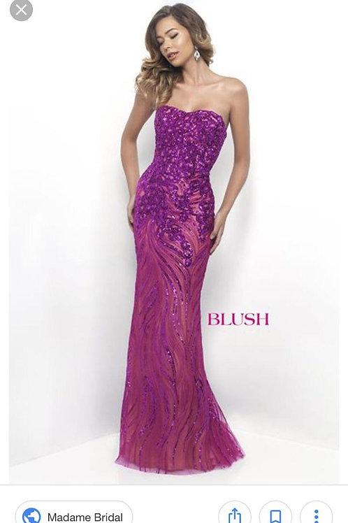 Blush Prom 11242 Size 8