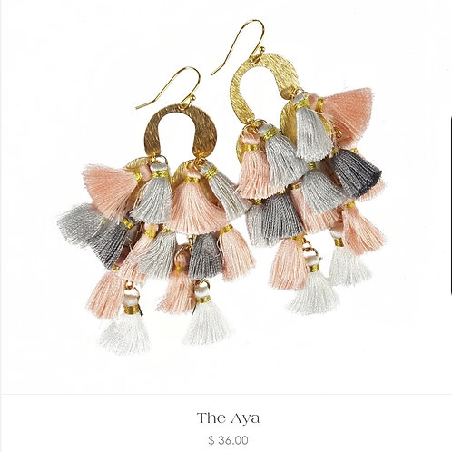The Aya Earrings - Fabulina Designs