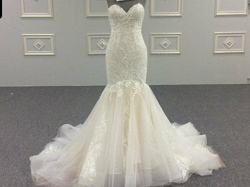 Zynab Smith Custom Wedding Dress