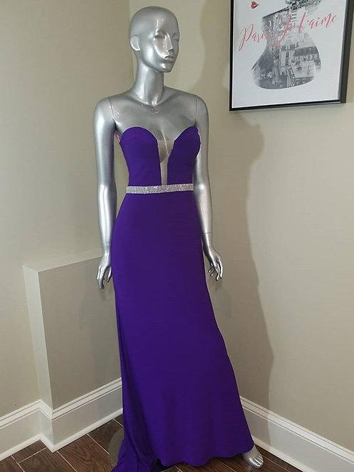 Blush Purple Gown Size 4