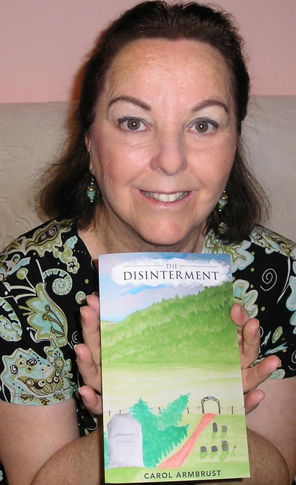 Carol Armbrust, author of The Disinterment