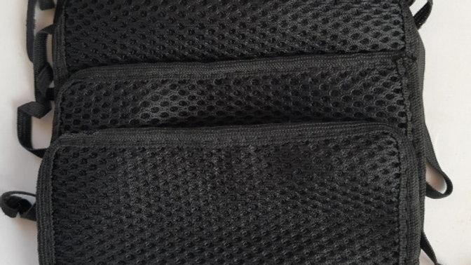 Black Masks Pack of 8