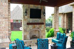 Outdoor patio   Patio Services in Texas   Hawk 3 Construction