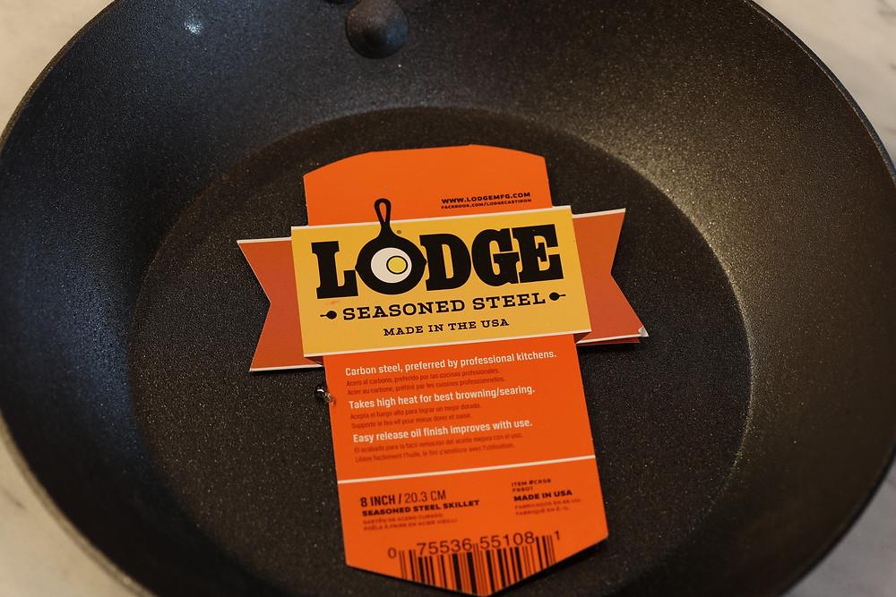 Lodge Carbon Steel Skillet