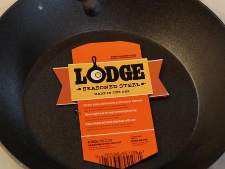 Lodge Carbon Steel Skillet Review
