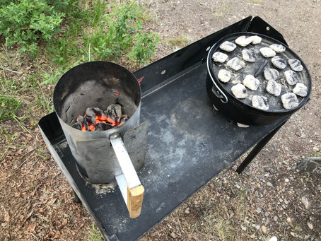 How to Season a Lodge Camping Dutch Oven