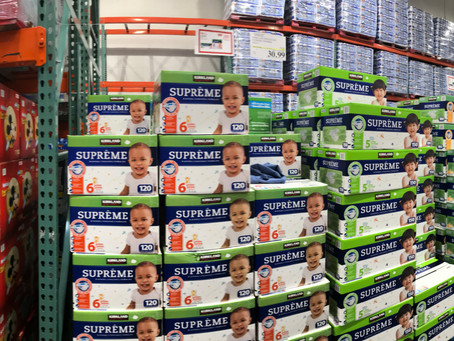 The Great Wall of Diapers