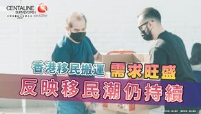 香港移民搬運需求旺盛 反映移民潮仍持續