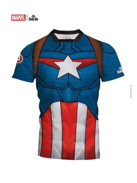 Captain America Slim Fit Shirt