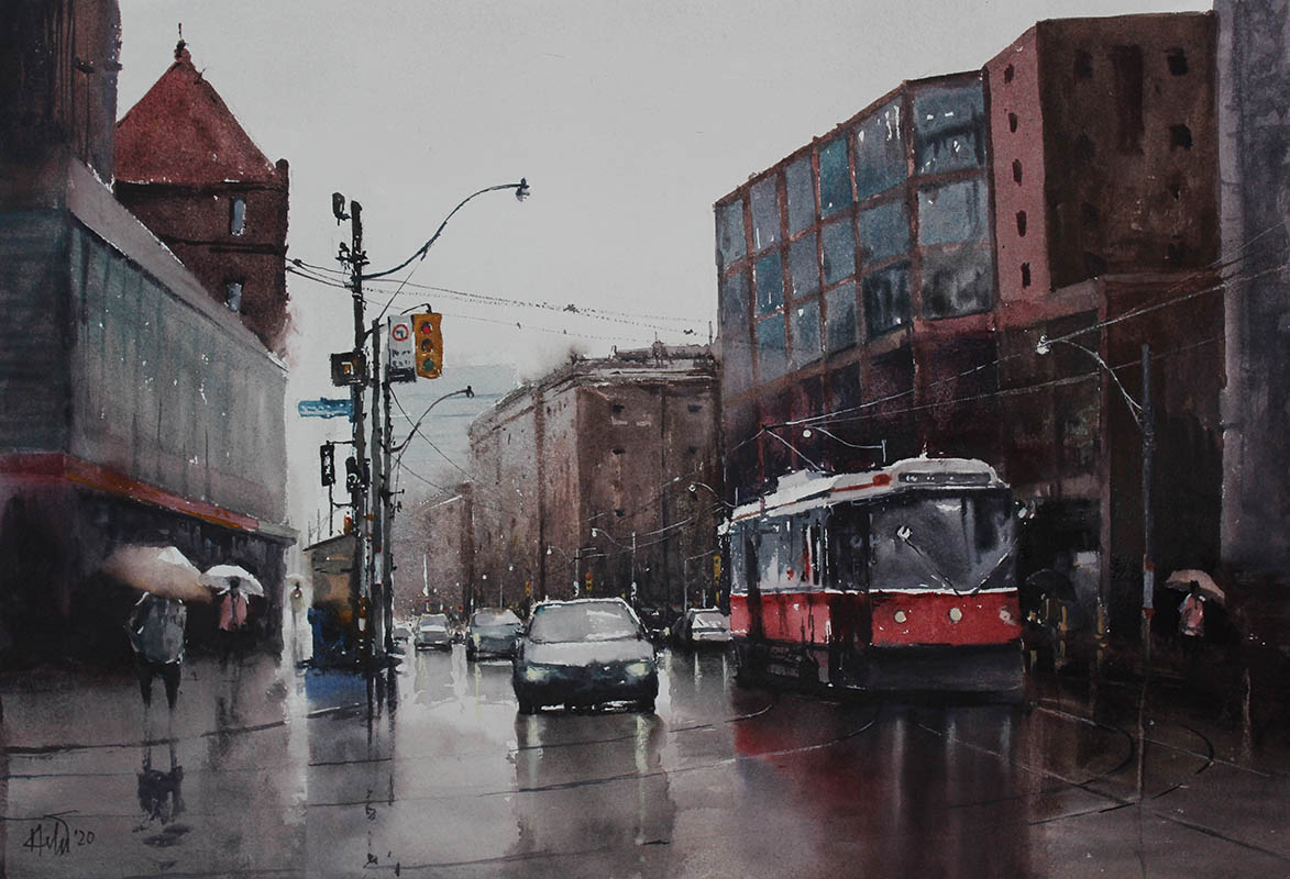 Toronto_Rainy Day_01