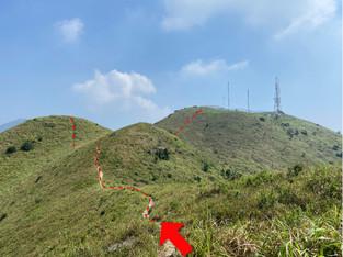 往彌勒山  Go to Nei Lak Shan