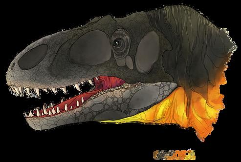 """Allosaurus, """"Oriole"""""""