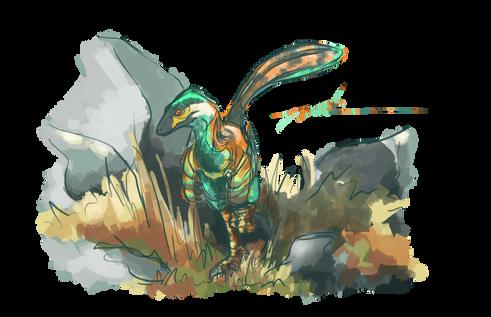 Linheraptor Exquisitus