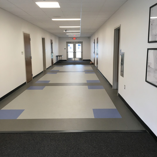 Main Middle School Hallway