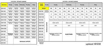 Live Zoom Schedule - Live Zoom Schedule