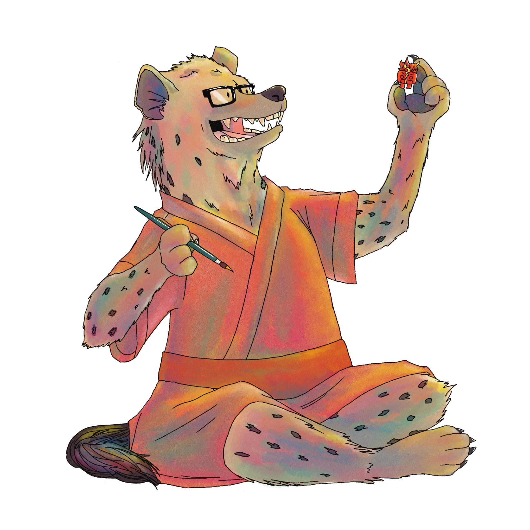 Jeremy the Hyena