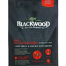 Blackwood 3000 Lamb Meal & Brown Rice Recipe Everyday Diet Dry Dog Food