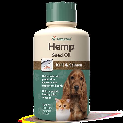 NaturVet Hemp Seed Oil 16oz