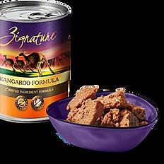 Zignature Kangaroo Limited Ingredient Formula Grain-Free Canned Dog Food, 13-oz