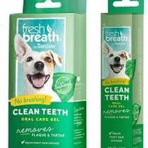 TropiClean Fresh Breath Clean Teeth Oral Care Dog Gel, 2-oz tube