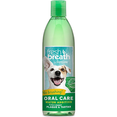 Fresh Breath by Tropiclean Oral Care Water Additive for Pets, 8oz