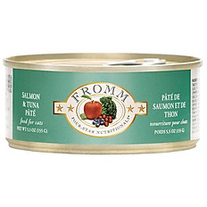 Four Star Grain Free Salmon and Tuna Pate Canned Cat Food