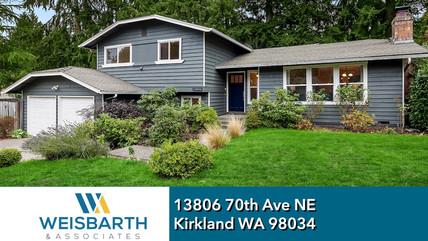 13806 70th Ave NE, Kirkland, WA 98034