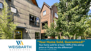 Sunny, spacious townhouse, a perfect blend of green-built and modern industrial chic, that's just a short block to Greenlake