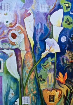 Lily Diptych A