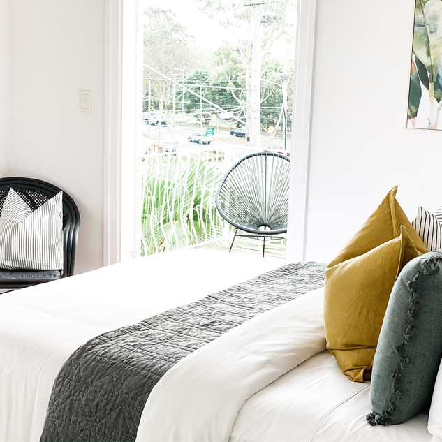 Bardon Airbnb - Master Bedroom